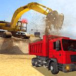 Heavy Excavator Dump Truck 3D icon