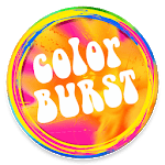 Color Burst Launcher - Icons and Themes Pack icon