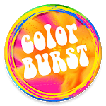 Color Burst Theme - Icons & Wallpapers icon