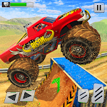 Offroad Monster Truck Impossible Stunts Tracks icon