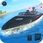 Police Speed Boat Gangster Chase icon