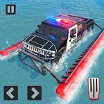 Police Truck Water Surfing Gangster Chase icon