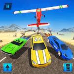 Chained Plane Vs Racing Cars Crash Stunts icon