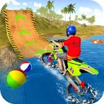 Water Surfer Motorbike Stunts icon