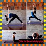 yoga positions icon