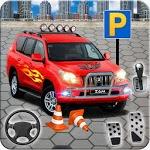 In Car Parking Games – Prado New Driving Game for pc logo