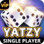 Yatzy Offline - Single Player Dice Game for pc logo