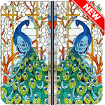 Popular Stained Glass Design icon