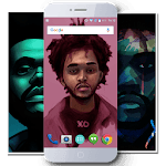 The Weeknd Wallpaper HD icon