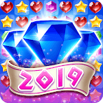Jewel Temple 2019 - Free Match Puzzle for pc logo