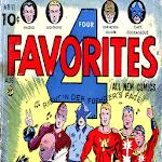 Super Heroes Comics - Four Favorites #11 icon