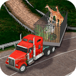 Zoo Animals Transport Truck Simulator icon
