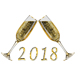 2018 New Year's Eve Countdown icon