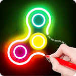 Draw Finger Spinner icon