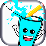 Feed Me Water - One Line Drawing Puzzles icon