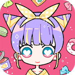 Cute Girl Avatar Maker - Cute Avatar Creator Game for pc logo