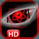 Sharingan Eye Sticker Art Design icon