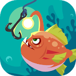 Happy Fishing - Catch Fish and Treasures for pc logo
