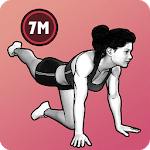 7 Minute Women Workout - Weight Loss Fitness icon