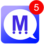 Messengers for social net apps icon