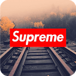 Supreme Wallpaper Art for pc logo