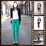 Women Jeans Photo Changer icon