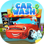 Car Washing Game - Vehicle Wash Game for Kids for pc logo