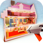 Dollhouse Builder Craft: Doll House Building Games icon