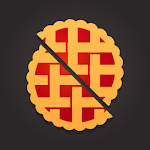 Lucky Pie - Plate food with tasty slices icon