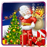 Santa Claus 3D Run icon