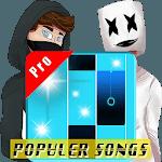 Pro Piano Magic Tiles - Populer Songs Real Midi icon