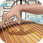 Koto Connect: Japanese stringed musical instrument icon