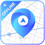 GPS, Offline Maps & Navigation icon