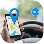 GPS Route Finder Maps Drive Directions Map Traffic icon
