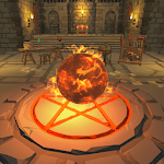 Idle Magic Clicker - A Wizard Tap Game (No IAP) icon