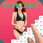 Pixel Art Color Bikini Suit Girls icon