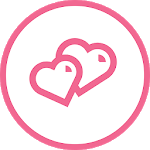 Pinr date - Free meet up app icon
