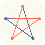 One Touch Drawing Connect Dots icon
