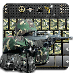 Camo Army Keyboard for pc logo