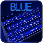 Cool Blue Keyboard icon