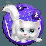 Cute Fluffy Cat Keyboard for pc logo