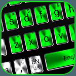 The metallic green keyboard theme for pc logo
