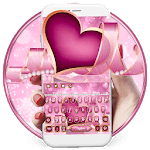Pearl Purple Heart Keyboard Theme💖 for pc logo