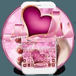 Pearl Purple Heart Keyboard Theme💖 icon