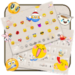 Smiley Emoji Keyboard Theme - Animoji & Stickers for pc logo