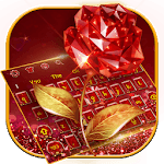 Red Rose Love Keyboard Theme icon