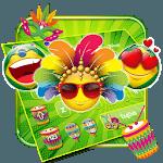Brazil Carnival Emoji Keyboard Theme😉 icon