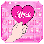 Beautiful Love Heart Keyboard Theme💘 icon
