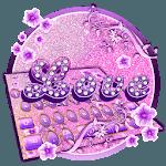 Neon Purple Love Keyboard Theme icon
