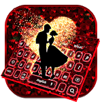 Romantic Valentines Rose Love Keyboard for pc logo